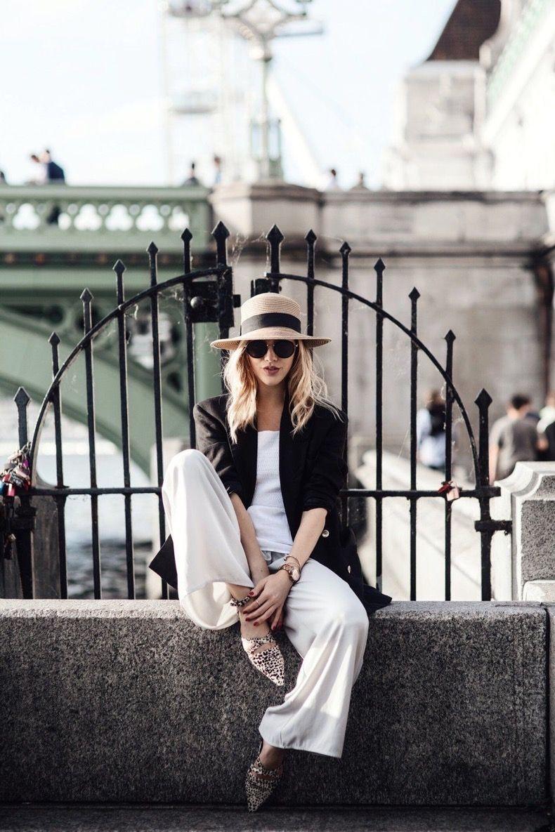 El Unico Sombrero Que Tienes Que Tener Esta Primavera Y Verano Street Fashion Photography Hat Fashion Fashion