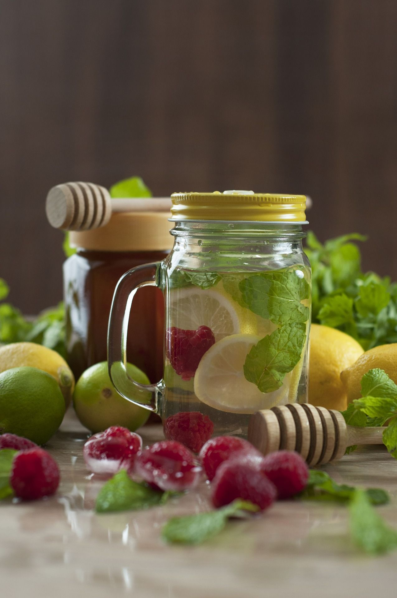 Flat Belly Raspberry Lemon Detox Water | Recipe (With images ...