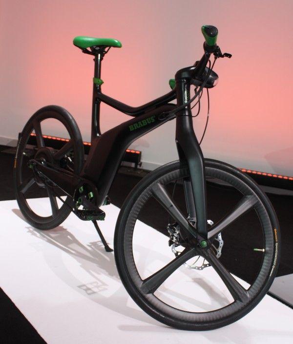 smart ebike test probefahrt smart ebike brabus bike. Black Bedroom Furniture Sets. Home Design Ideas