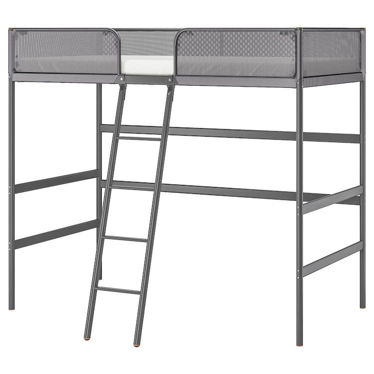 Tuffing Loft Bed Frame Dark Gray Twin Ikea Loft Bed Frame Stuva Loft Bed Bed Frame