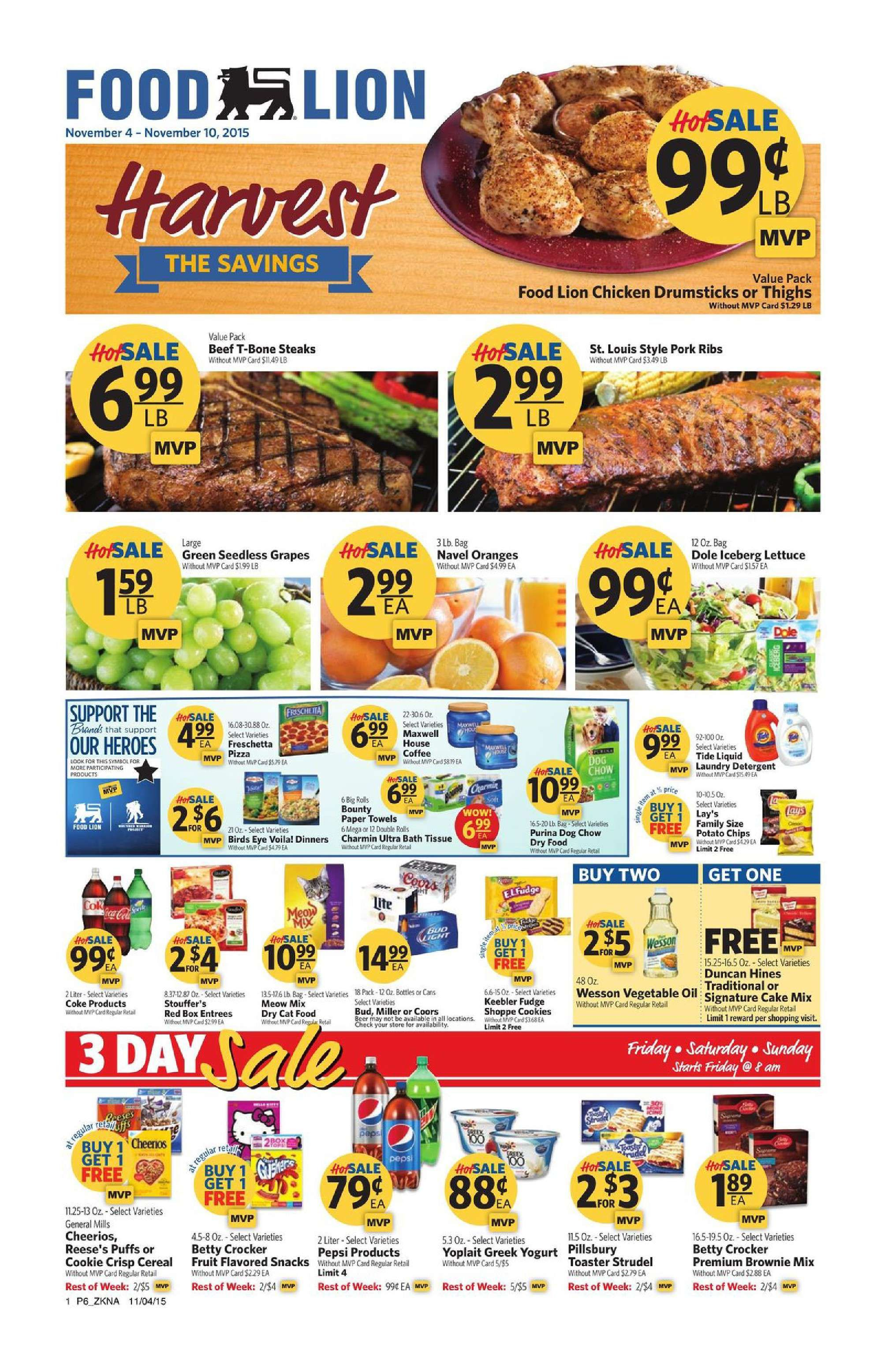 Food lion weekly ad june 21 2017 do you know what s in and what s hot in the food lion for this week here are food lion ad this week