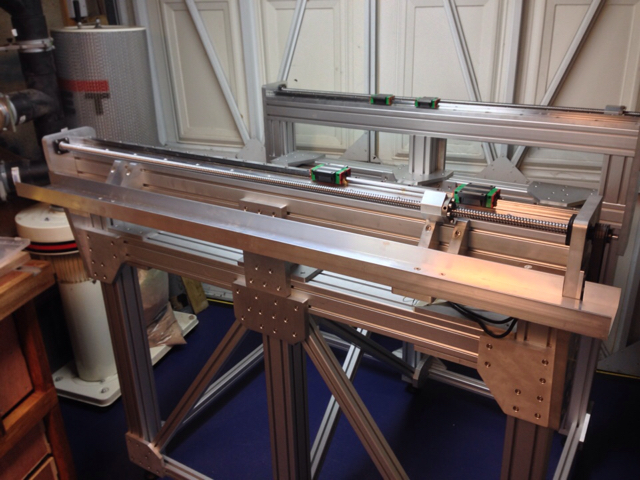 Aluminium Extrusion Router Build Page 8 (With images