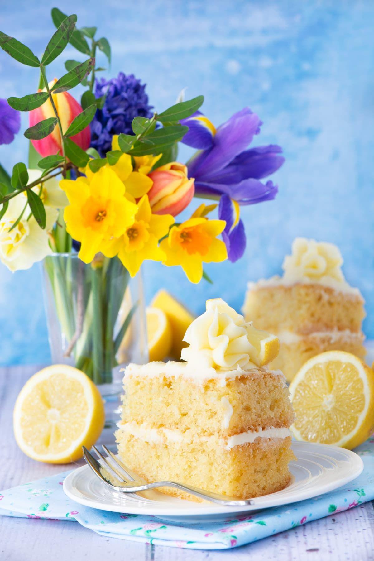 Easy Lemon Cake – A delicious, moist all-in-one lemon ...