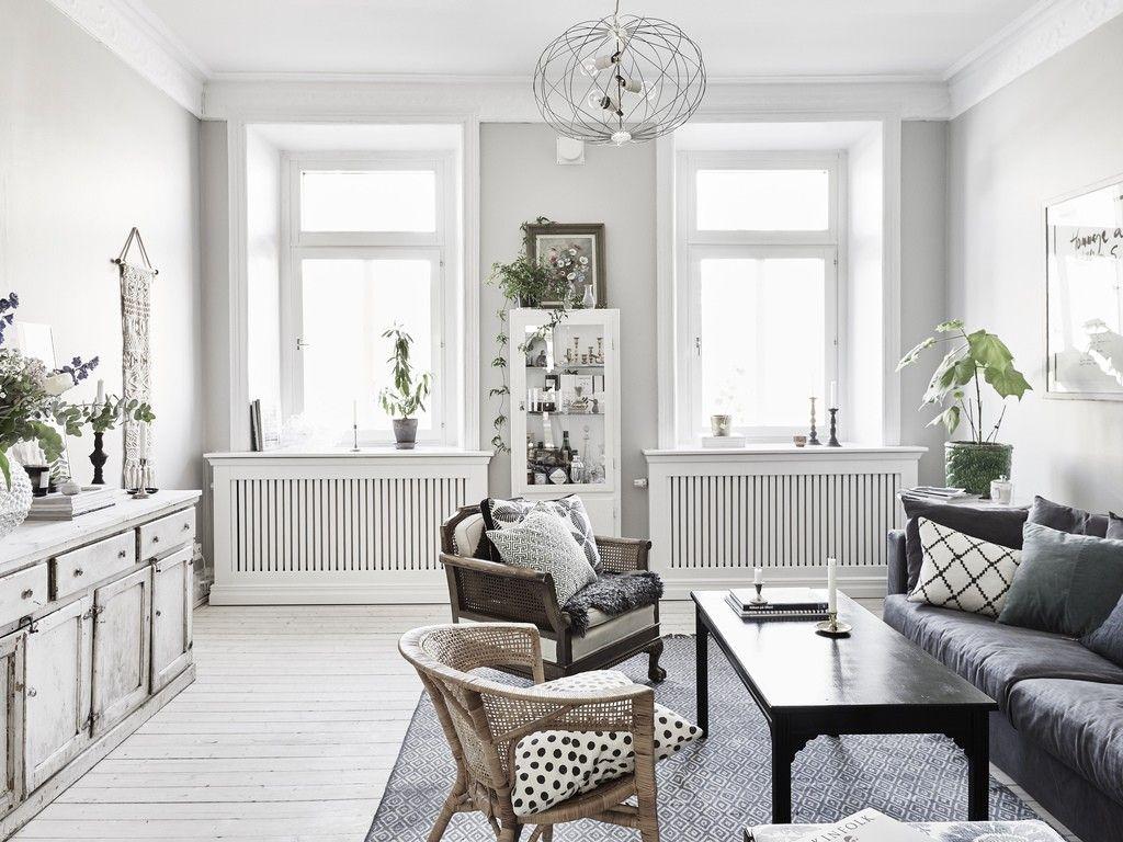 Hoe richt je een kleine woonkamer in?