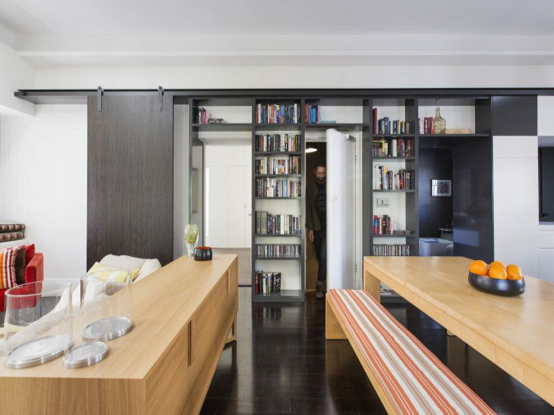 living room joinery storage 5/300 Liverpool Street, Darlinghurst ...