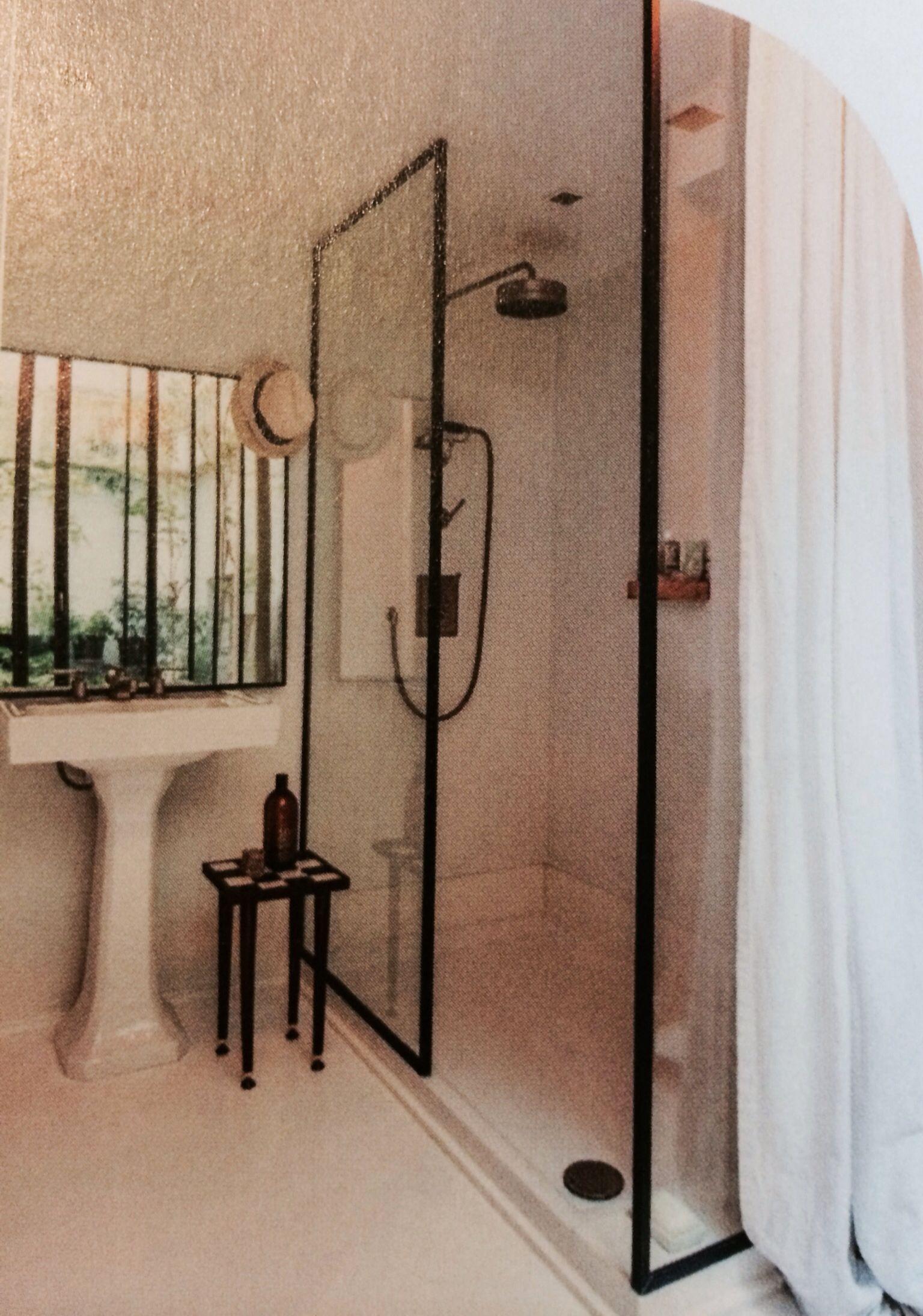 douchewand badkamer pinterest