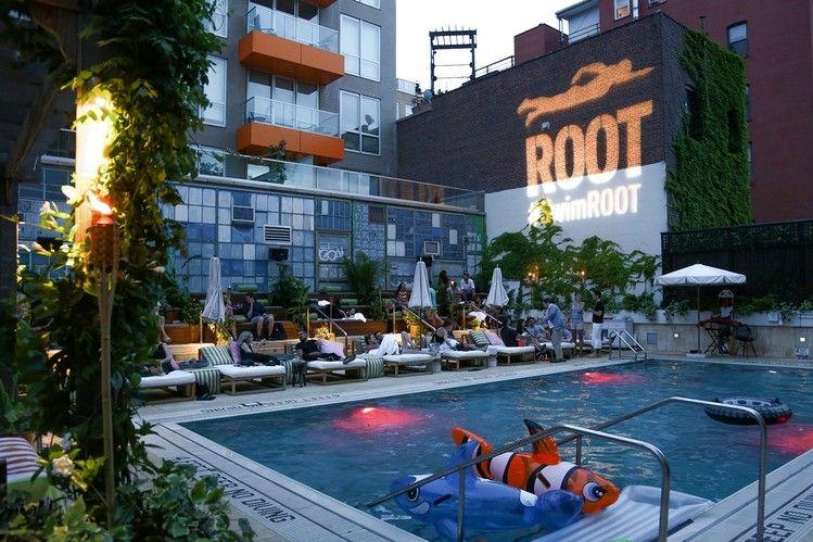 Mccarren Hotel Pool Brooklyn Google Search Hotel Pool Pool Rooftop