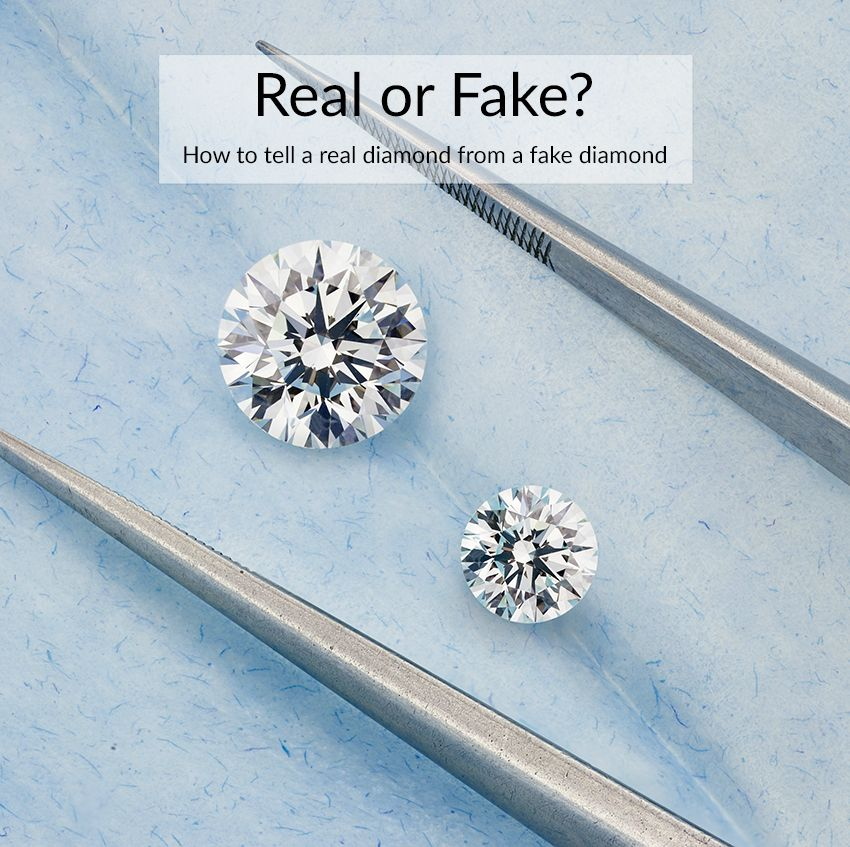 How To Tell A Fake Diamond From A Real Diamond 8 Different Ways Real Diamond Earrings Fake Diamond Earrings Uk
