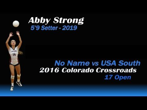 Abby Strong 5 9 Setter 2019 Georgia Southern Strong Georgia