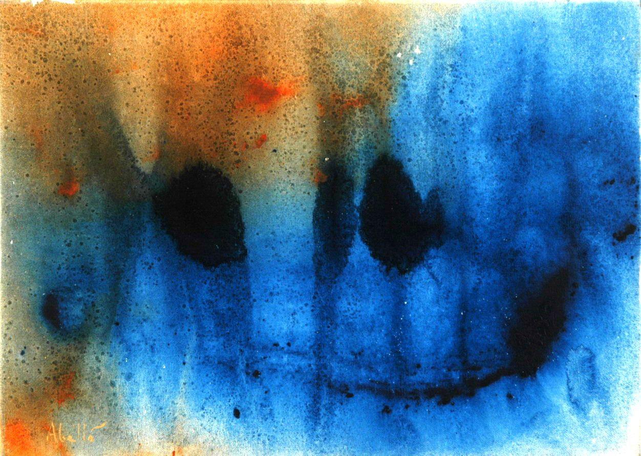 - Emoticon submari - 2007  #art #artist #sanchezabello #painting #acrillio  #acryllic #barcelona #bcn #spain #salou #reus #tarragona #pop #emoticon #submari #2007