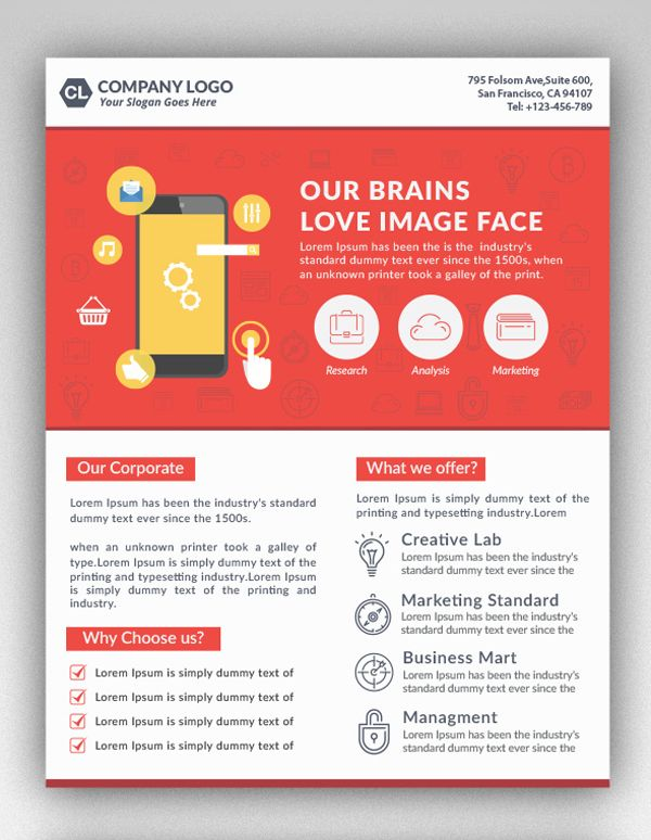 Corporate Flyer Template design Pinterest Flyer template - corporate flyer template