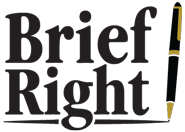 This is a blog about creating winning legal briefs. Any aspect of briefwriting and brief editing may be covered.