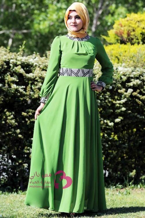 فساتين محجبات تركية للخروج مس ناني نتشارك الحياة Dresses Victorian Dress Fashion
