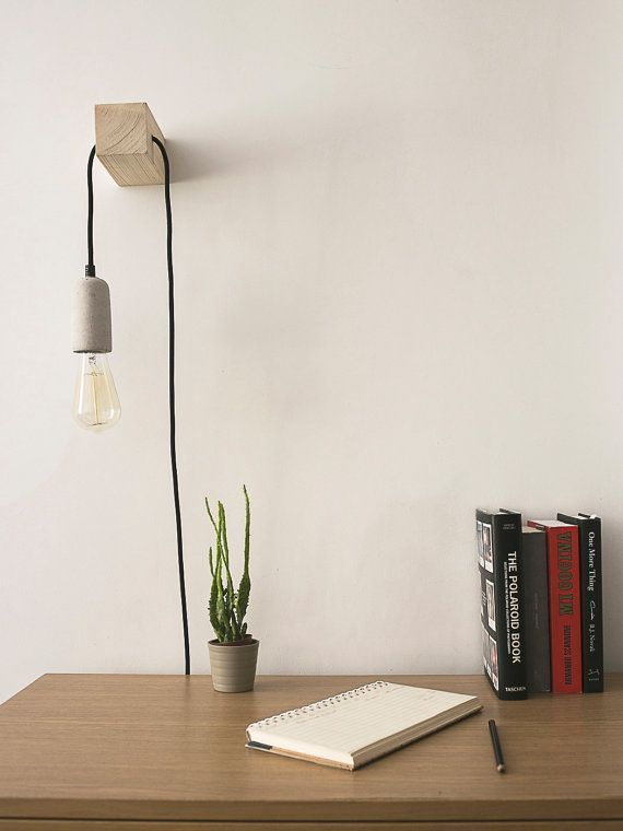 Minimal Entworfene Und Handgefertigte Lampe Eine Perfekte Passform Fur Ihre Entworfene Handgefertigte Lampe Min Handmade Lamps Decor Retro Home Decor