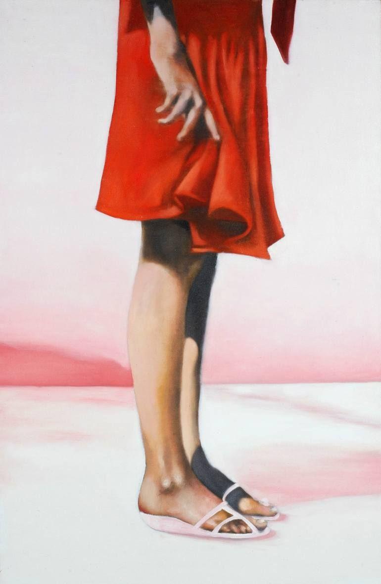 """Saatchi Art Artist Wilfrid Moizan; Painting, """"Alice (SOLD)"""" #art"""