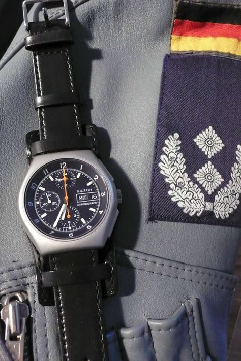 Tutima Military by Air Force of the Federal Armed Forces of Germany (Bundeswehr)