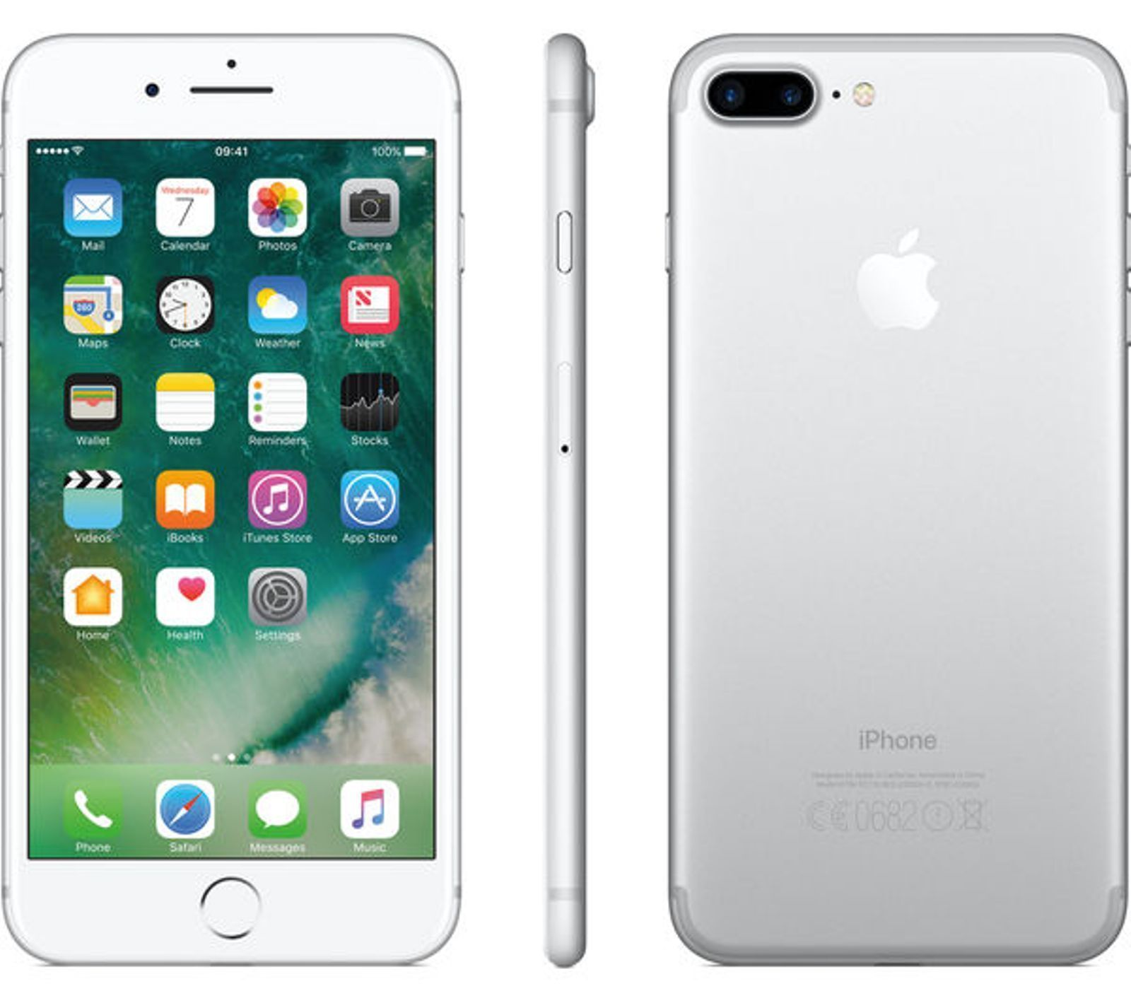 Apple Iphone7 Plus Silver 128gb Brand New At T H20 Cricket