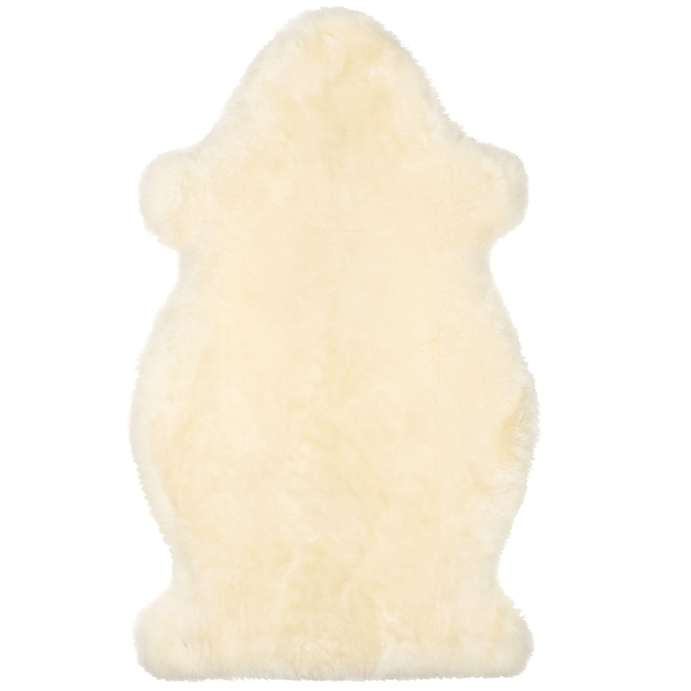 John Lewis Partners Sheepskin Baby Comforter Ivory In 2020