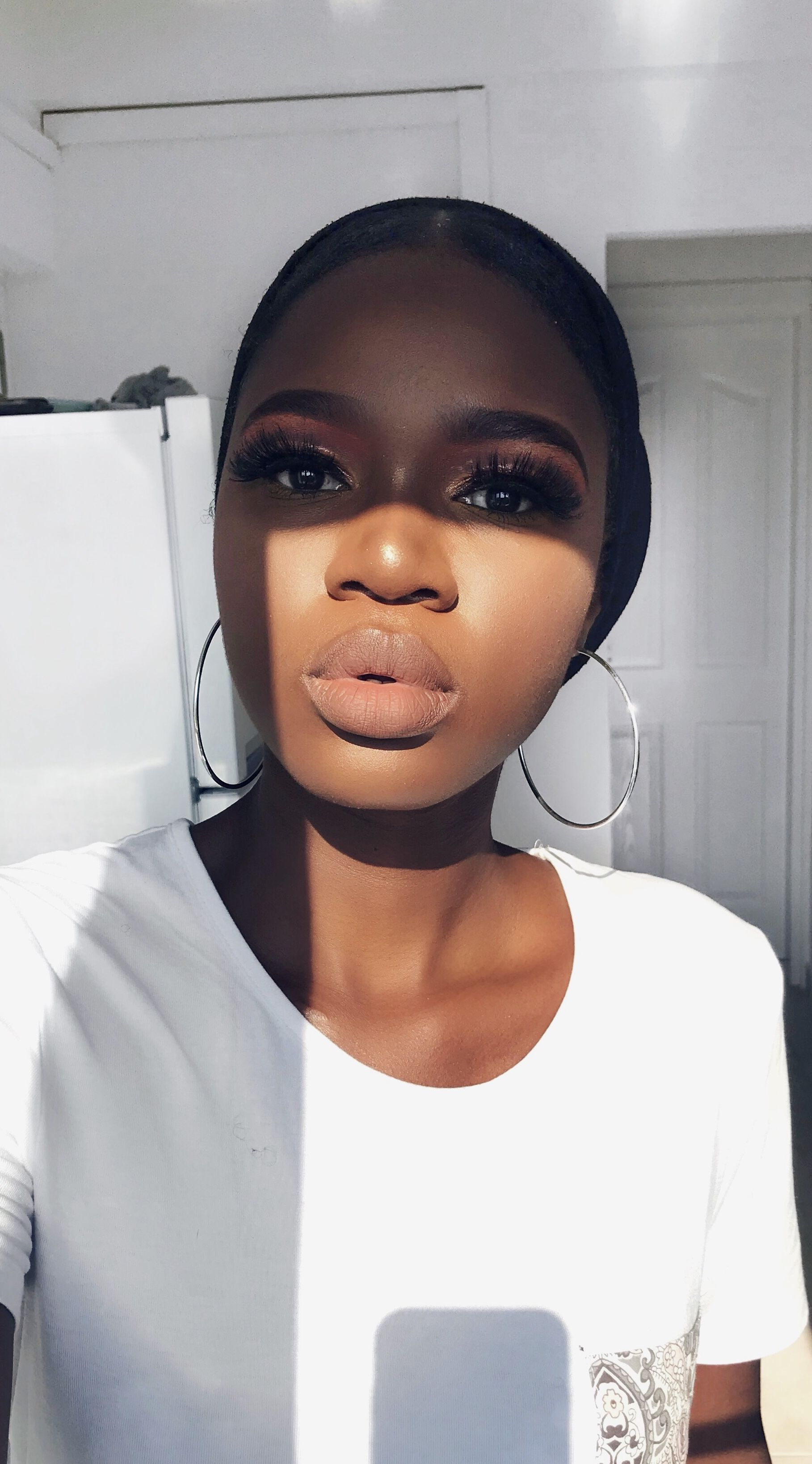 Full face makeup on dark skin Dark skin makeup tutorial