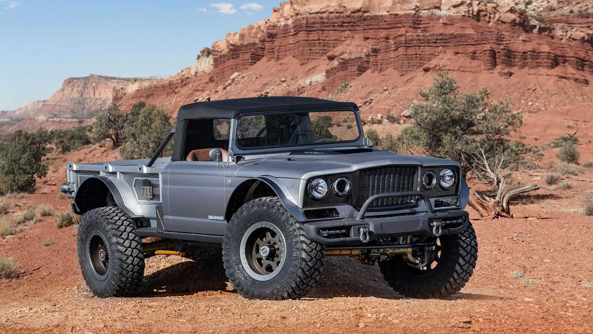 Jeep Gladiator M715 Five Quarter Is A 700hp Monster Truck Jeep