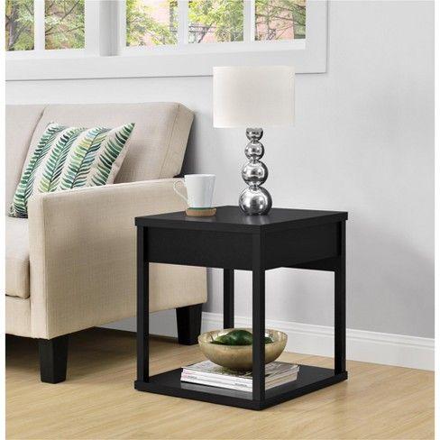 Best George End Table With Drawer Black Room Joy Target 400 x 300