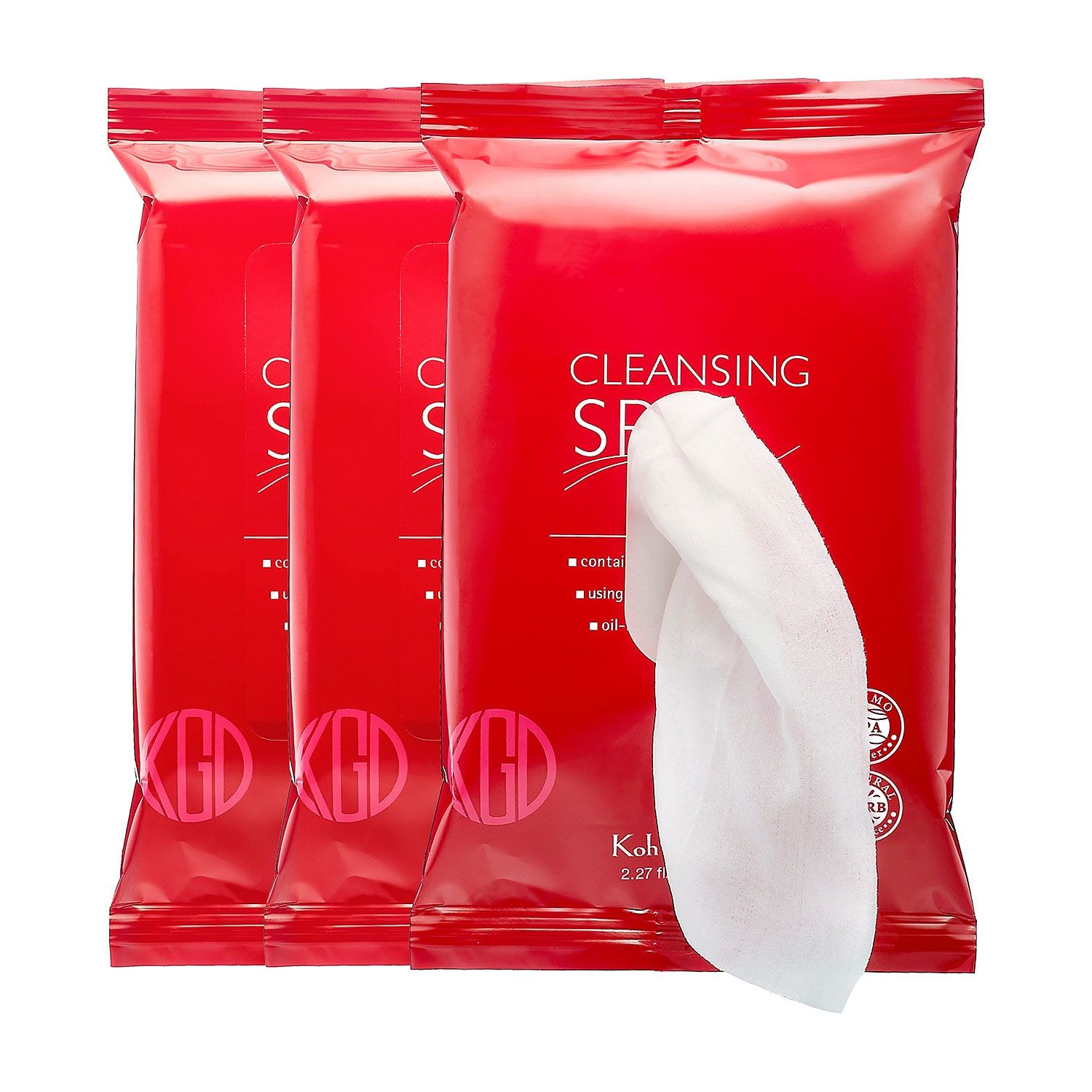 Koh Gen Do Cleansing Spa Water Cloths Best makeup
