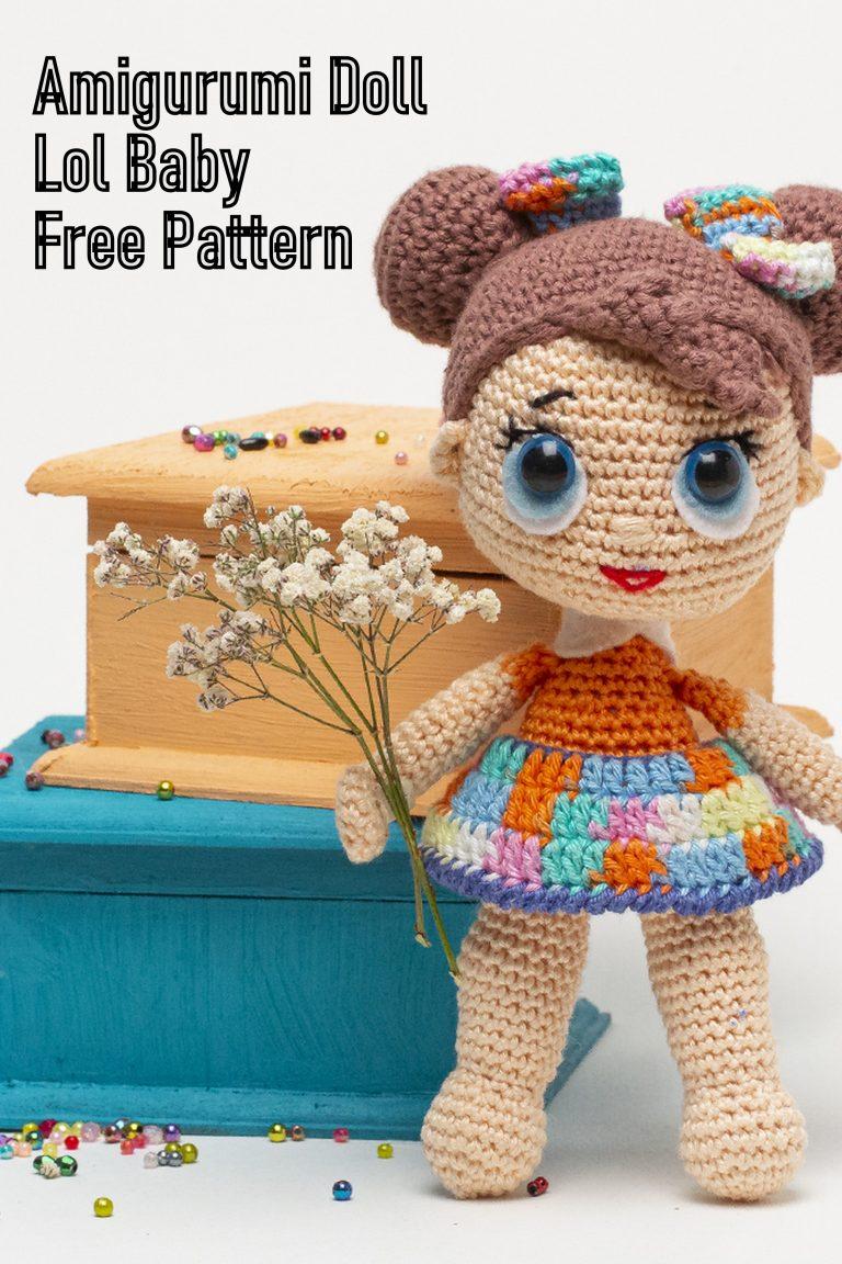 Amigurumi Doll Sweet Girl Free Pattern | Bambole di uncinetto ... | 1152x768
