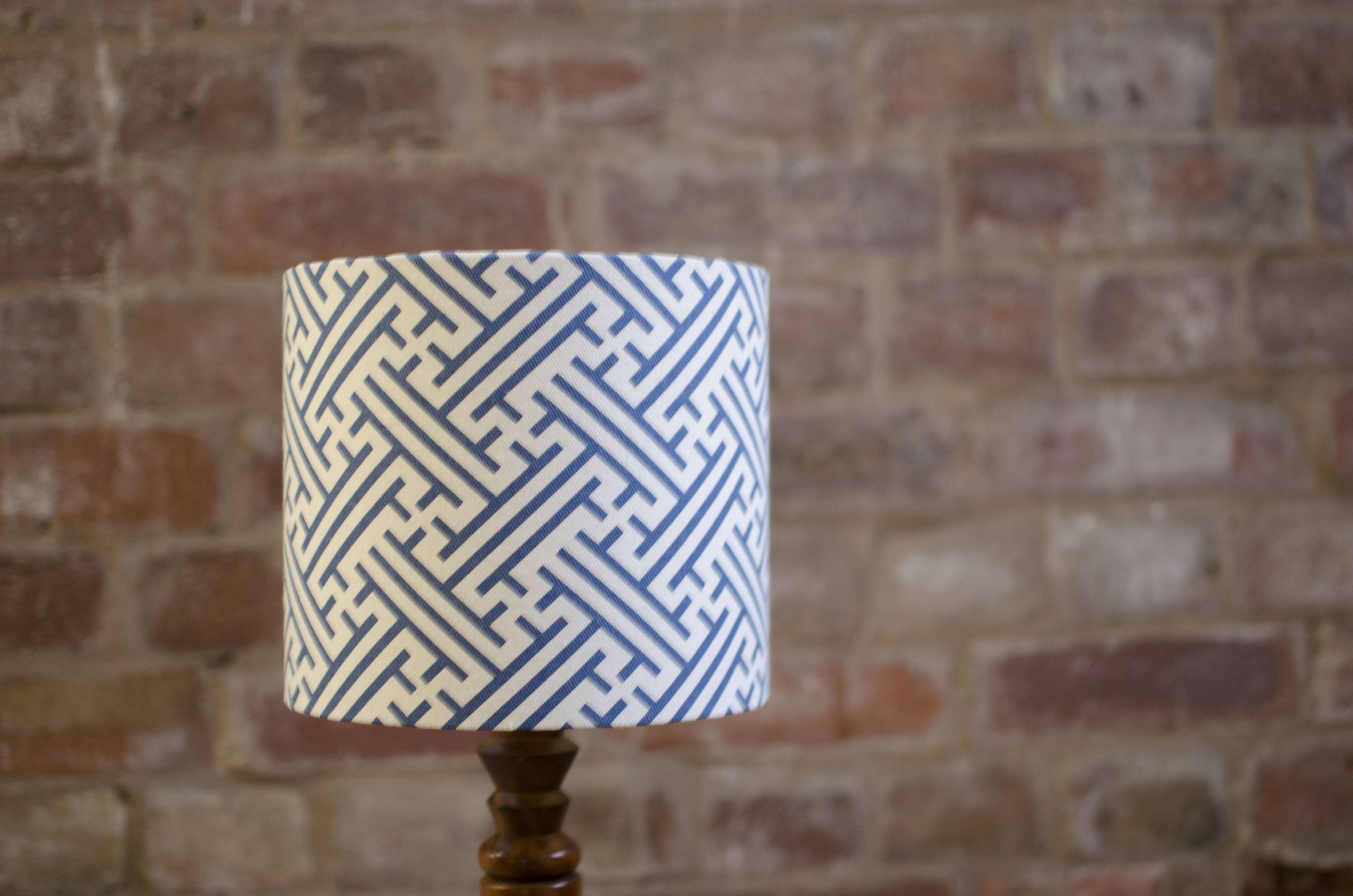 Superieur Blue Lampshade, Geometric Lamp Shade, Blue Home Decor, Geometric, Simple  Lampshade,