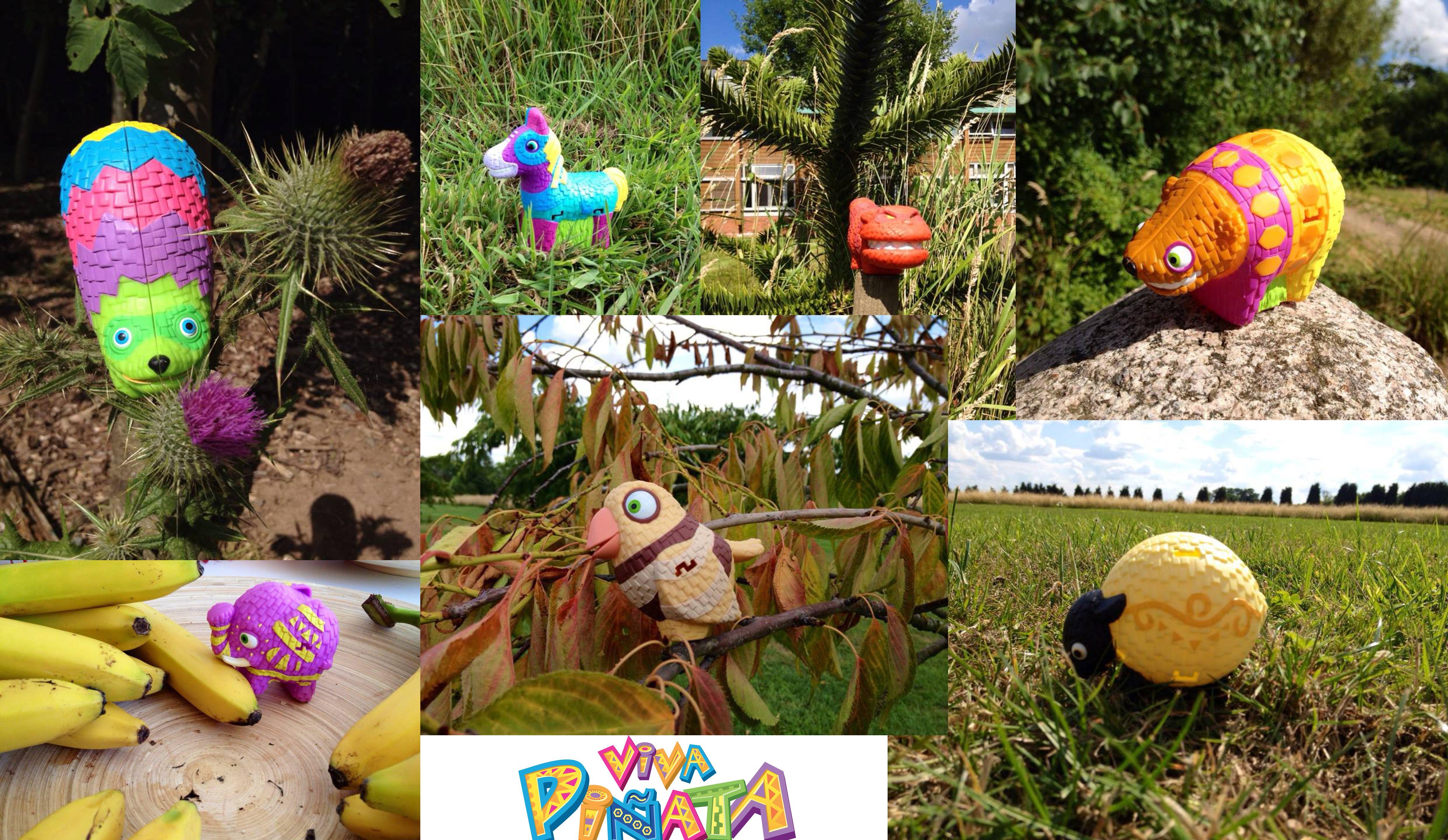 Viva Piñata Burger King toys shot in the Rare grounds   Viva