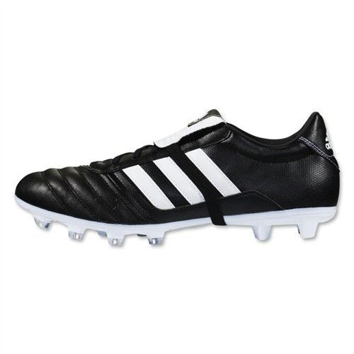 Our adidas Gloro FG Noir Blanc Noir knows that high level play