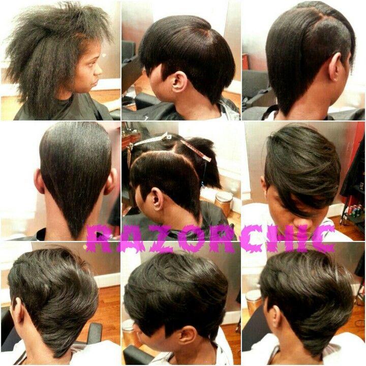 Razor Chic Of Atlanta Hairstyles Razor Cut Chick Of Atlanta  Hair  Pinterest  Razor Cuts Hair