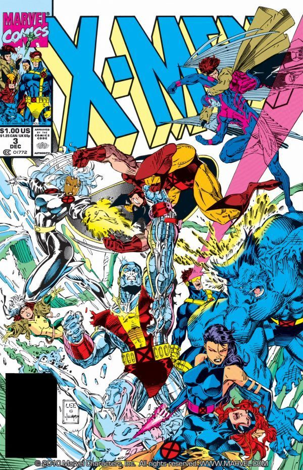 X Men 1991 2001 3 Comics By Comixology Jim Lee Art X Men Marvel Comics Covers