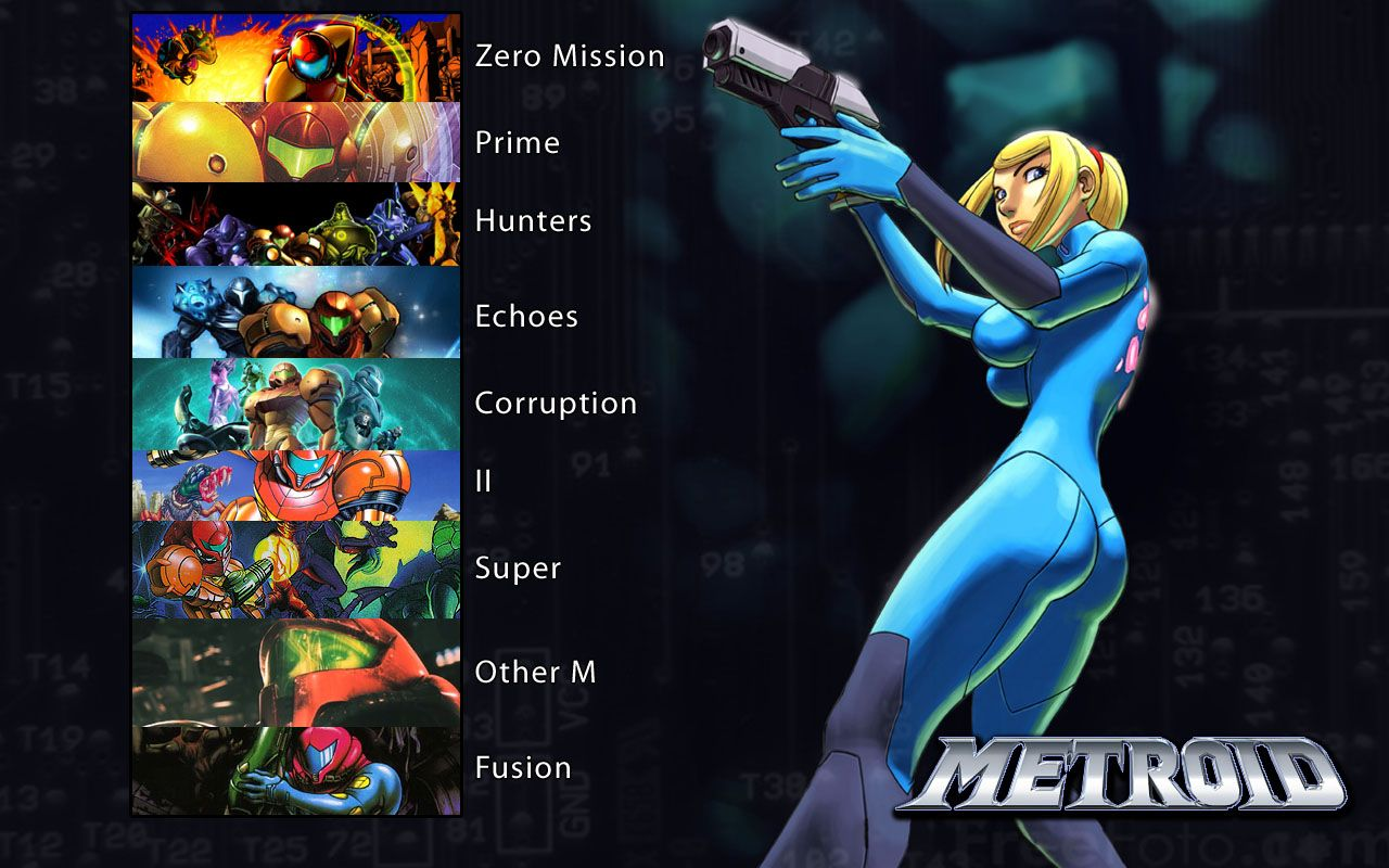 Metroid Prime Wallpapers (Mobile, iPad)