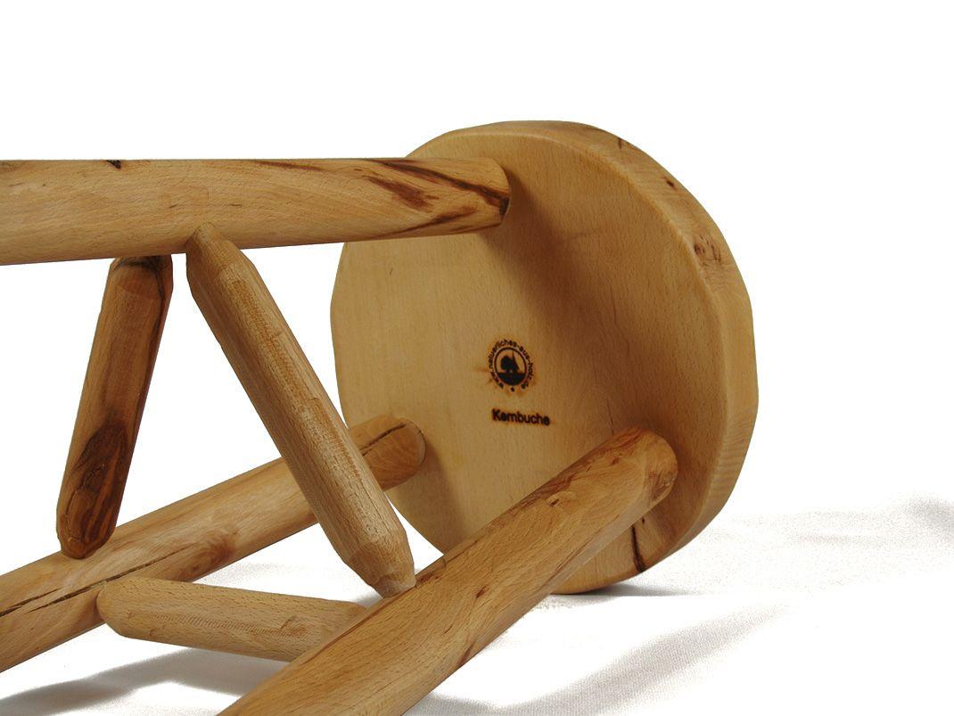 Dreibeinhocker aus Buche massiv | Natürliches aus Holz | Pinterest ...