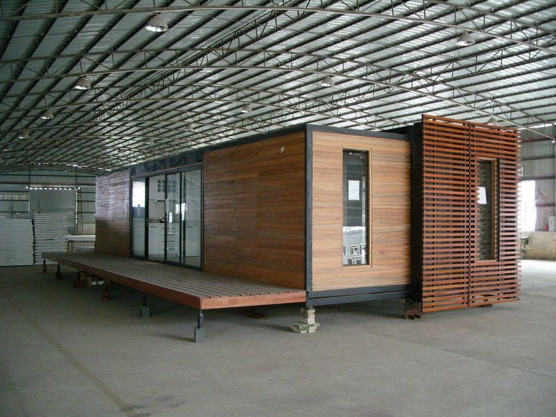 40ft Expandable Modular Prefabricated Container House China