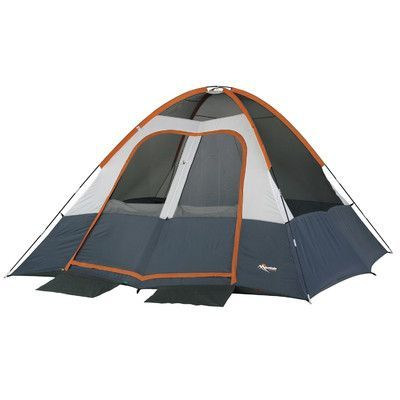 Wenzel Salmon River 2-Room Dome 6 Person Tent  sc 1 st  Pinterest & Wenzel Salmon River 2-Room Dome 6 Person Tent | tents for all ...