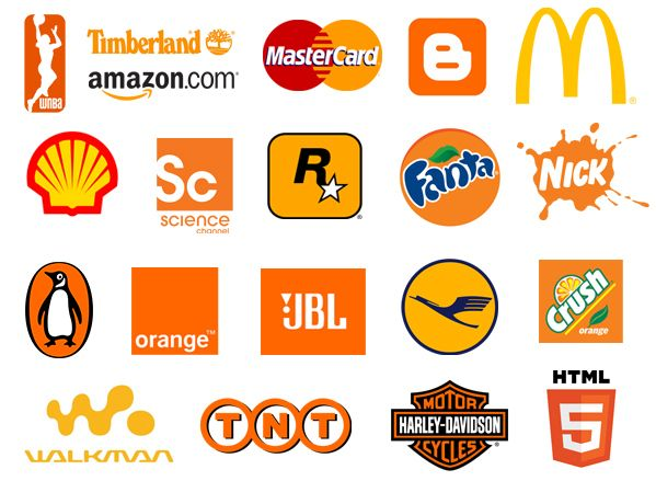 Top 20 Famous Logos Designed In Orange Famous Logos Logo Design Orange