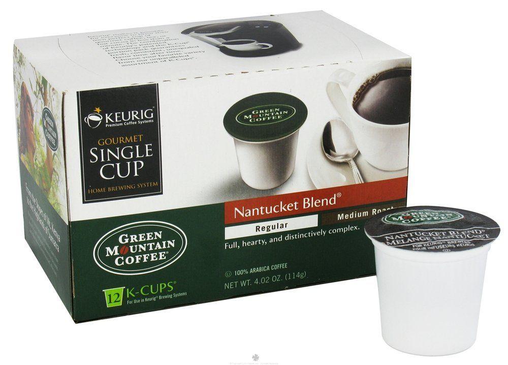 Green Mountain Coffee Nantucket Blend,Medium Roast KCup