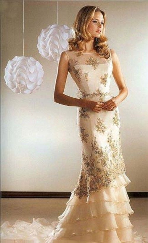 wedding dresses for second marriages over 40 | Gorgeous Casual ...