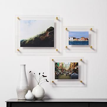 Modern Acrylic Frames Acrylic Frames Acrylic Picture Frames Gallery Frames