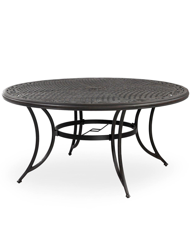 Furniture Cast Aluminum 60 Round Outdoor Dining Table Outdoor Dining Table Round Patio Table 60 round outdoor dining table
