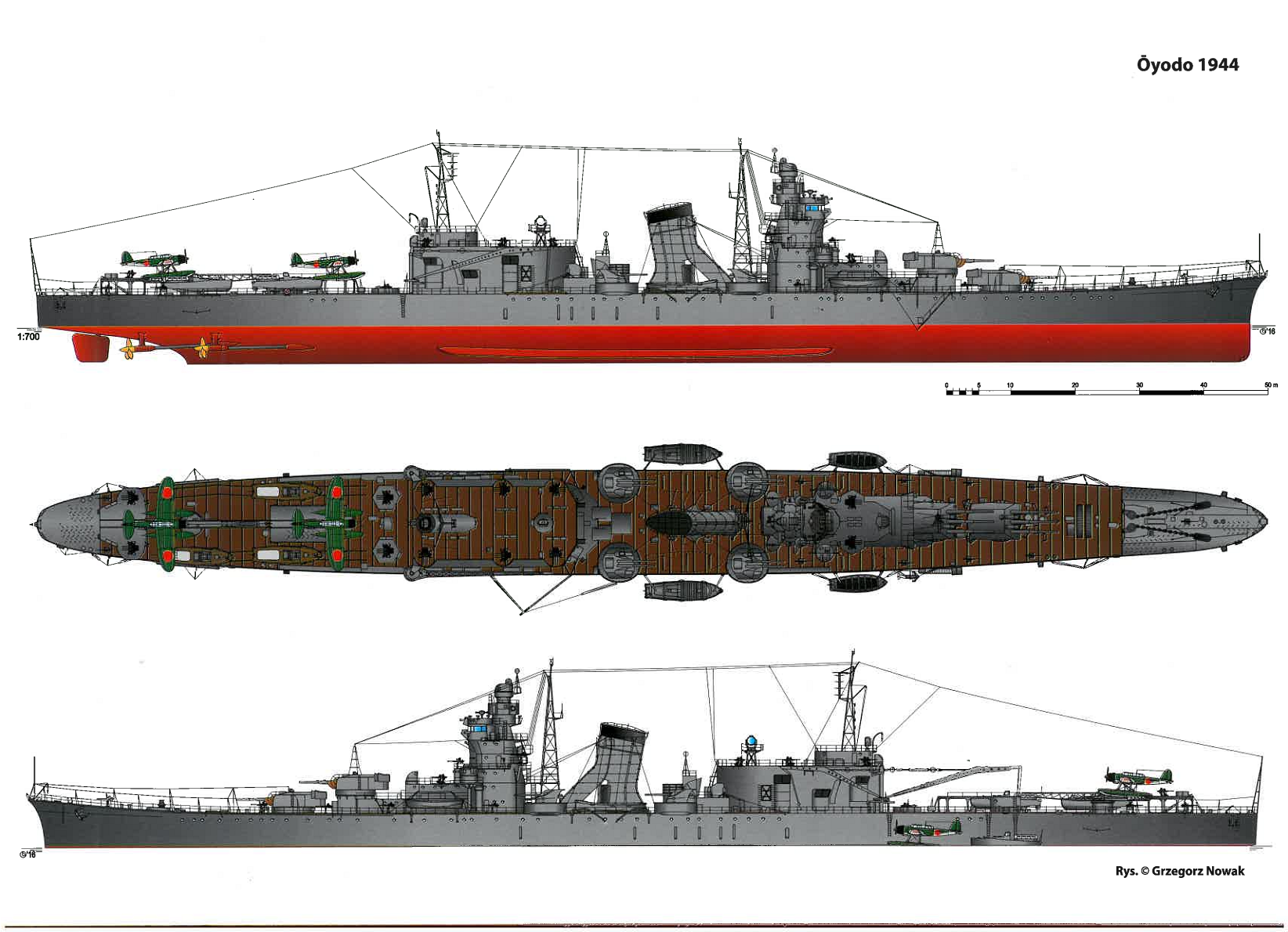 ijn light cruiser oyodo soviet navy heavy cruiser imperial japanese navy [ 1644 x 1190 Pixel ]