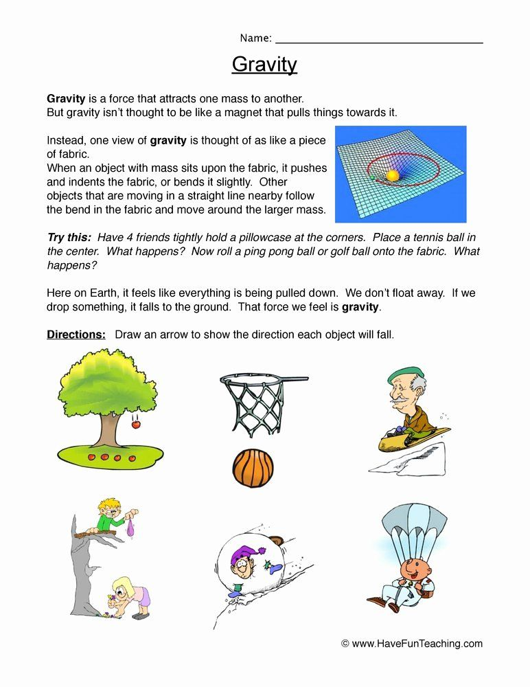 Friction And Gravity Worksheet Best Of Science Worksheets Resources Have Fun Teaching Science Worksheets Gravity Science