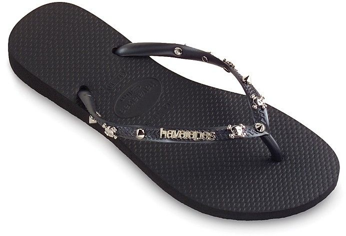 2bfffa805a34de Havaianas with skulls and spikes just ordered these can t wait to wear  them!!!