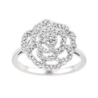 Fourth Wedding Anniversary Gift Flowers Diamonds Rings