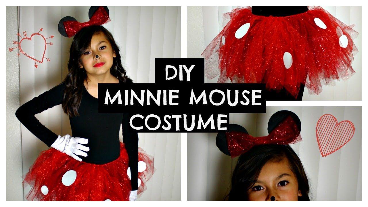 4a37da569a8 Cute DIY Mickey and Minnie Costumes for All Sizes | #Walt Disney ...