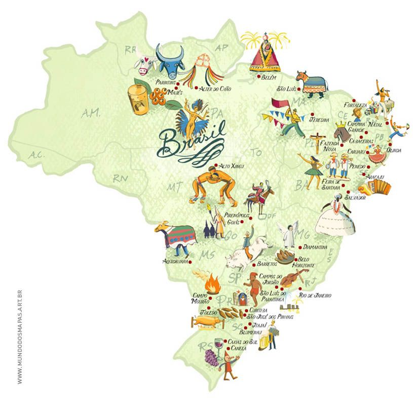 This is Brazil on a world map Andrew Colman Period 8 Pinterest - fresh world map image with degrees