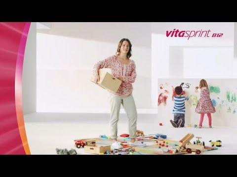 TV-Spot Vitasprint B12: Neue Energie auf Knopfdruck