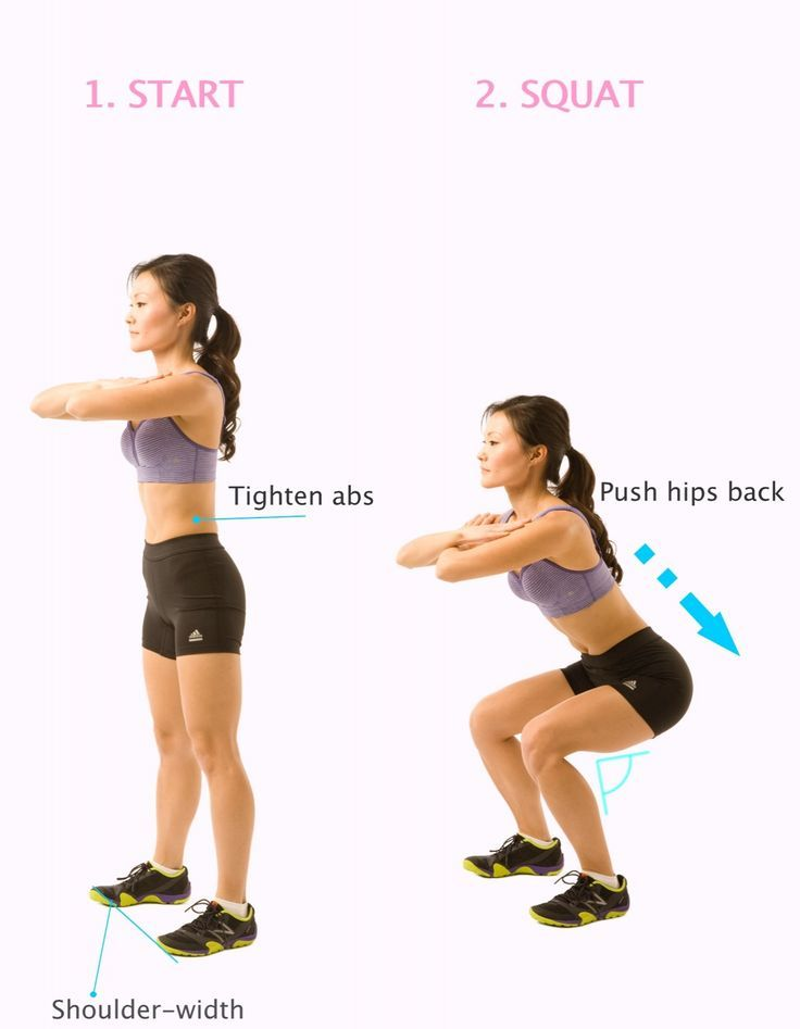squats exercise - Google Search | Healthy Living | Pinterest ...