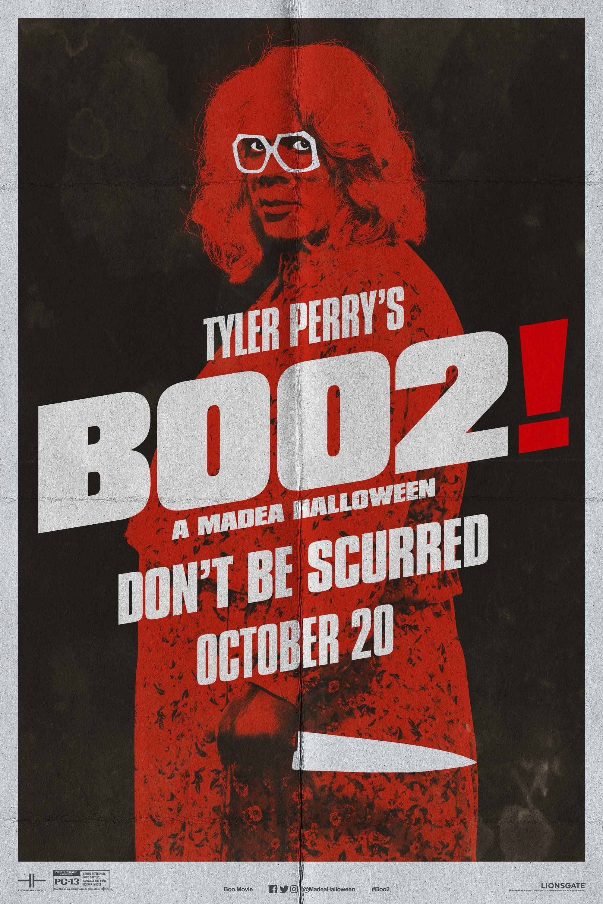Watch #Free! Tyler Perry's Boo 2! A Madea Halloween [2017] Movie ...